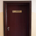 Drzwi do gabinetu Kanclerza