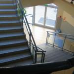 chody prowadzące na I piętro
