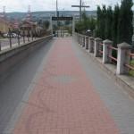 Ścieżka prowadząca dawniej do wejścia