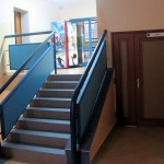 Kolejny korytarz (tym razem w drugim skrzydle Katolika)
