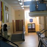 Hall w drugim skrzydle naszej Szkoły