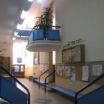 Hall w drugim skrzydle naszej Szkoły #2