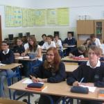Uczniowie podczas zajęć w pracowni komputerowej #1